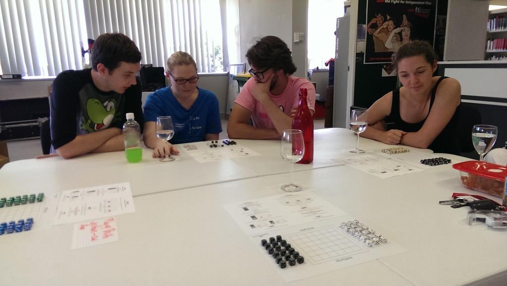Playtesting thirtysix board game