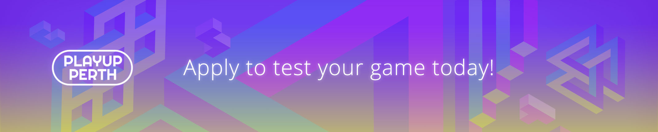 Apply to Test Your Game