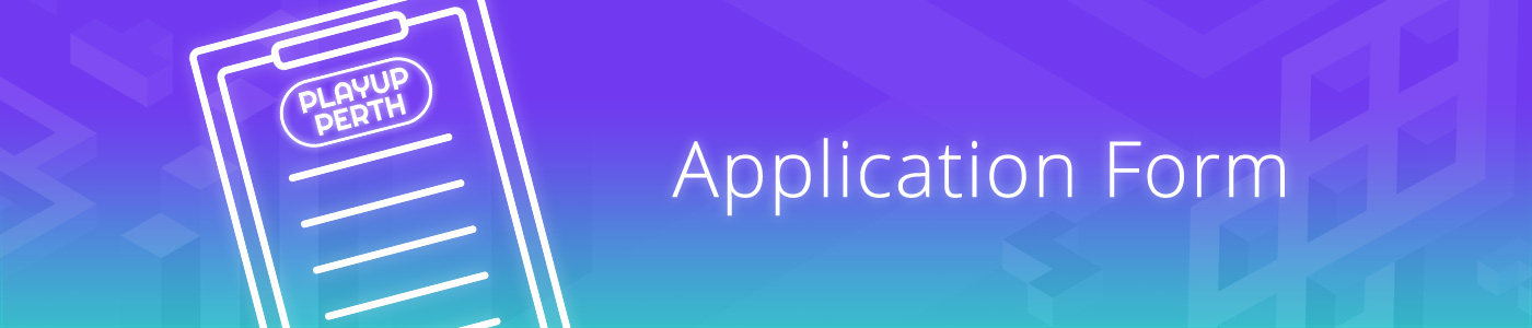 Application Form banner image